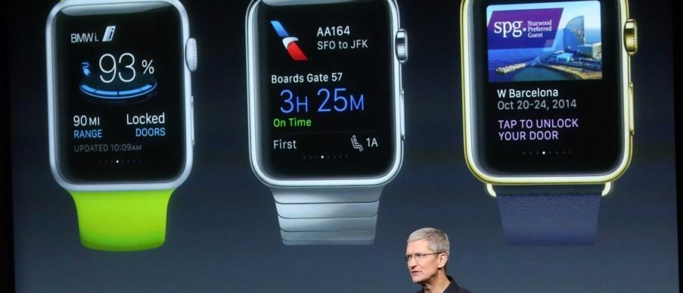 Apple Watch launch, sales policy, AMOLED screen details