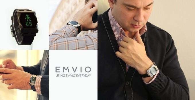Emvio stress-reducing smartwatch adds zen to your life