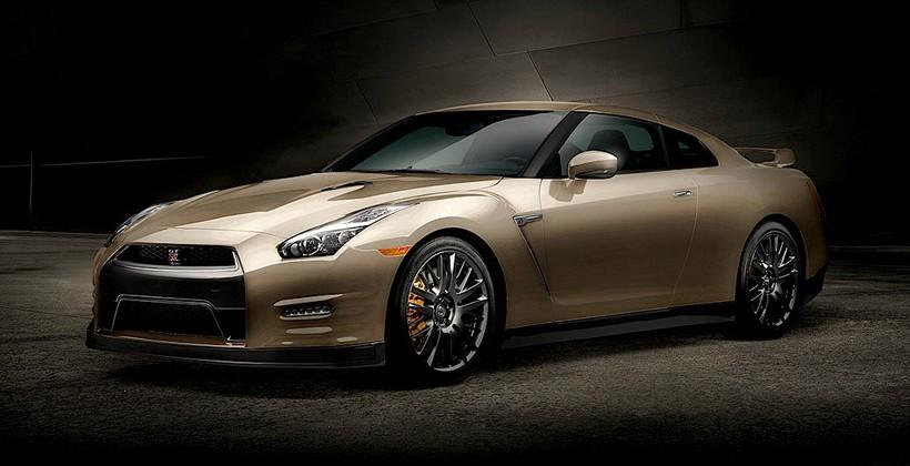 2016 Nissan GT-R Anniversary Gold Edition announced