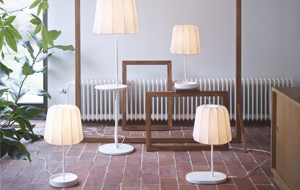 Ikea Announces Tables Lamps With, Lamp With Shelf Ikea