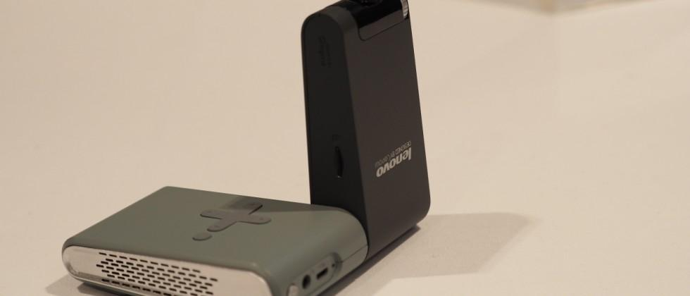 Lenovo Pocket Projector hands-on: a mini portable 'theater'