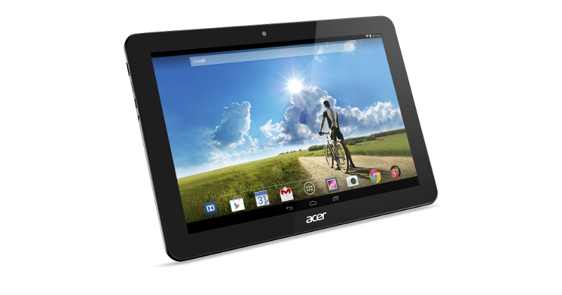 Acer Iconia Tab 10 Android tablet flaunts Full HD display