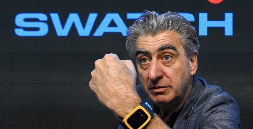 Swatch will battle smartwatches with NFC in dumb watches