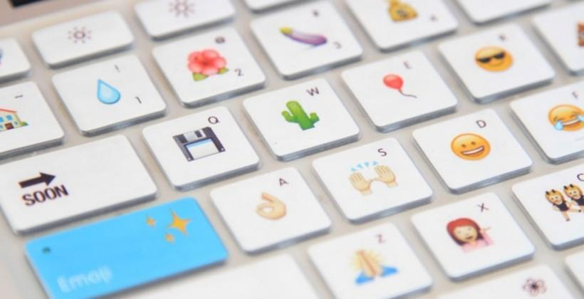 Emoji Keyboard skin puts characters right beneath your fingers