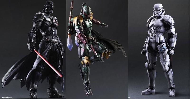Play Arts figurines give Star Wars a Square Enix flavor