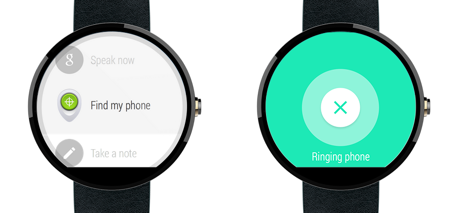 Your Android Wear smartwatch can now find your Android phone