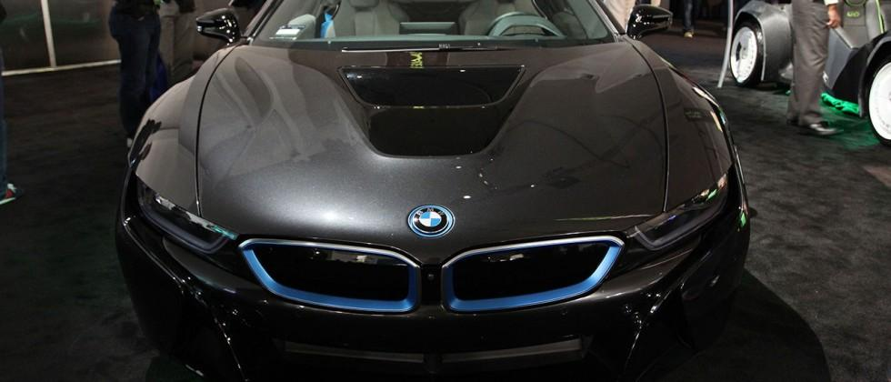 BMW i8 coupe rolls in to GTC 2015 with NVIDIA inside