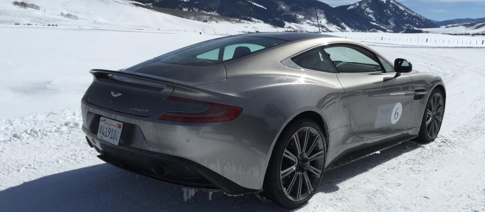 Aston Martin on ICE: James Bond for a Day with American Express by Invitation Only