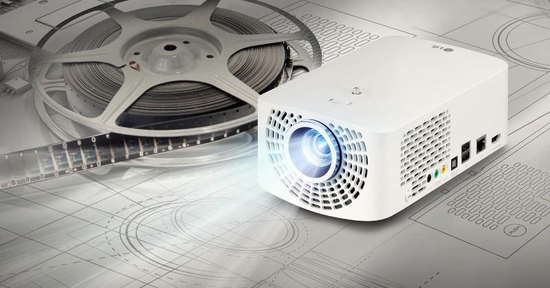 LG reveals Minibeam Pro, Minibeam TV pico projectors