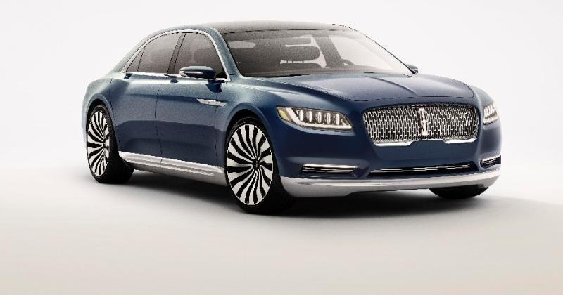 Lincoln Continental Concept quietly sneaks in luxury