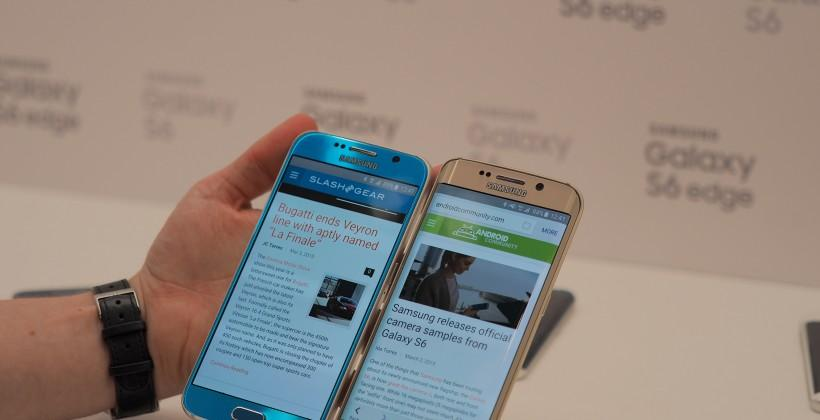 Samsung Galaxy S6 and S6 edge hands-on: 2015's hard-hitters