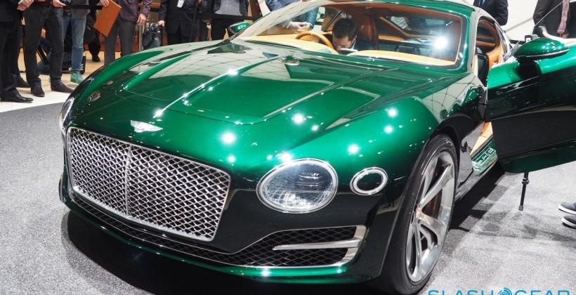 Bentley EXP 10 Speed 6: Look out world, the Brits are back