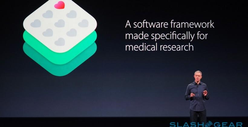 Apple ResearchKit: open source medical data, apps out today