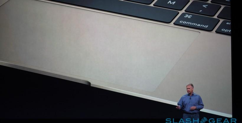 "New MacBook has ""Force Touch"" trackpad"