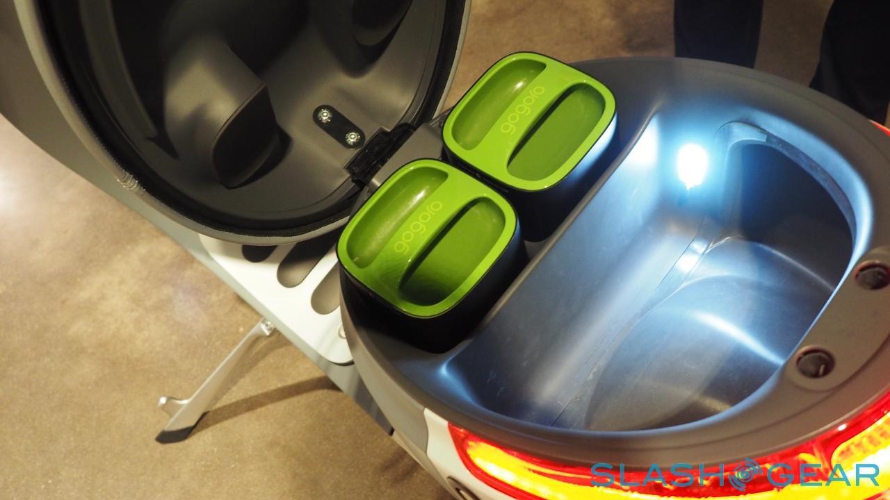 Gogoro battery packs