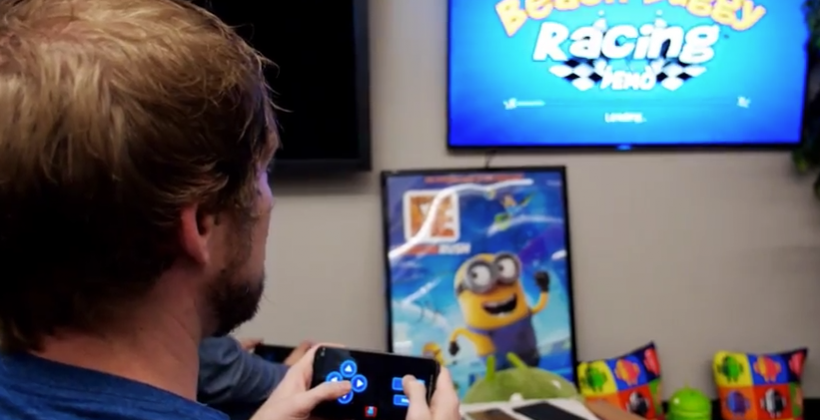 Google API puts games on TV as phone/tablet become controller