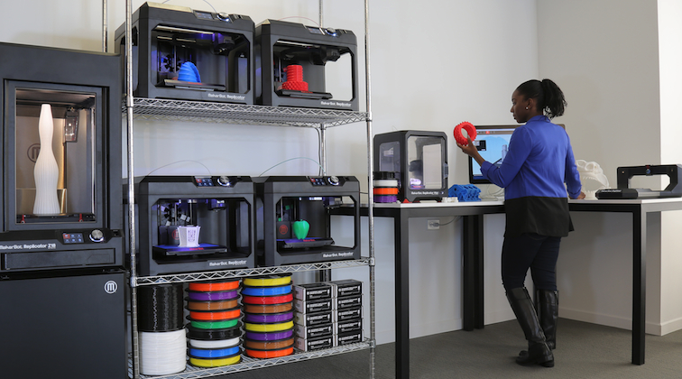 MakerBot announces Startup Lab for schools, businesses
