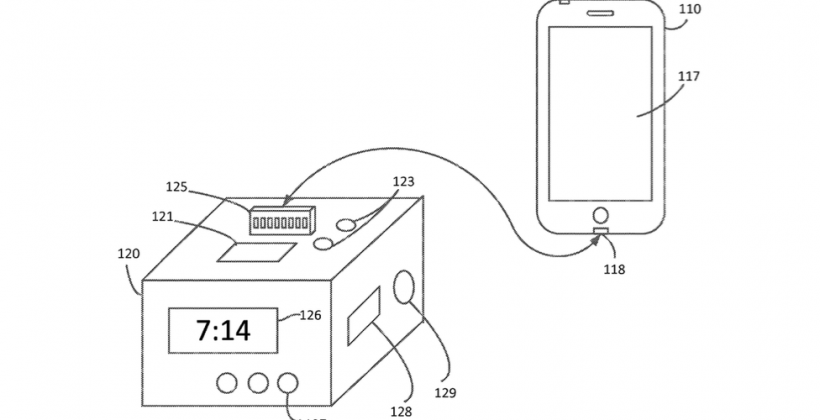 Apple patent points to dock that is potentially an IoT hub
