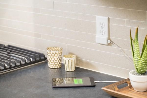 SnapPower brings USB to any outlet without re-wiring