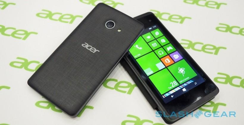 Acer Liquid M220 hands-on: a late Windows Phone club member