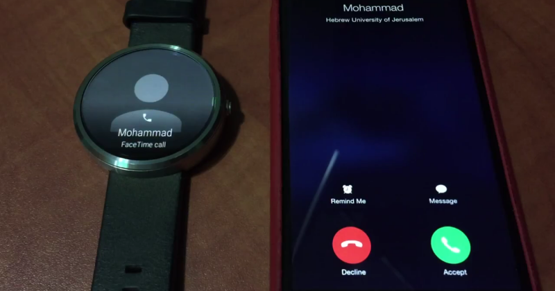 Android Wear can now unofficially answer iPhone calls