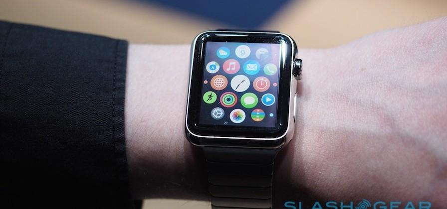Apple Watch home screen rearranging via iPhone revealed