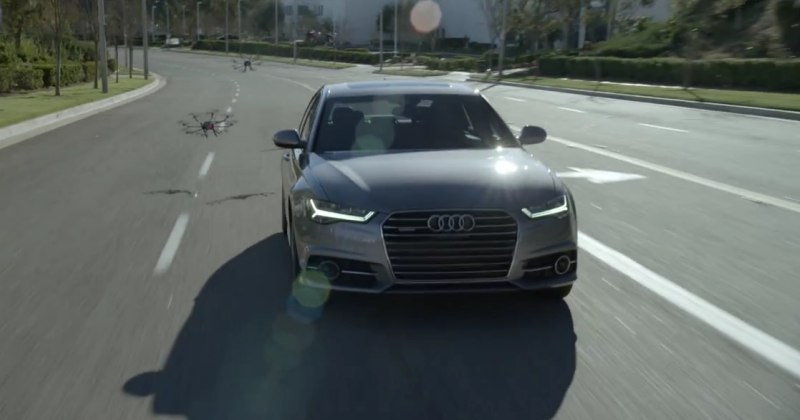 Audi A6 TV spot shows technology that won't try to kill you
