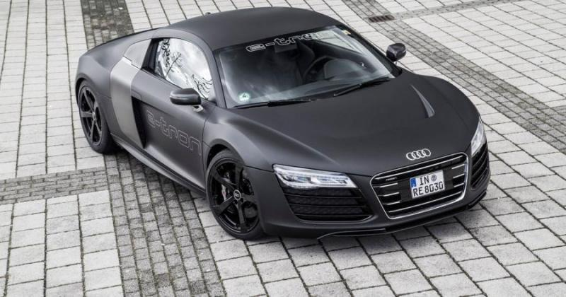 Audi R8 e-tron gets another chance in new 2015 prototype
