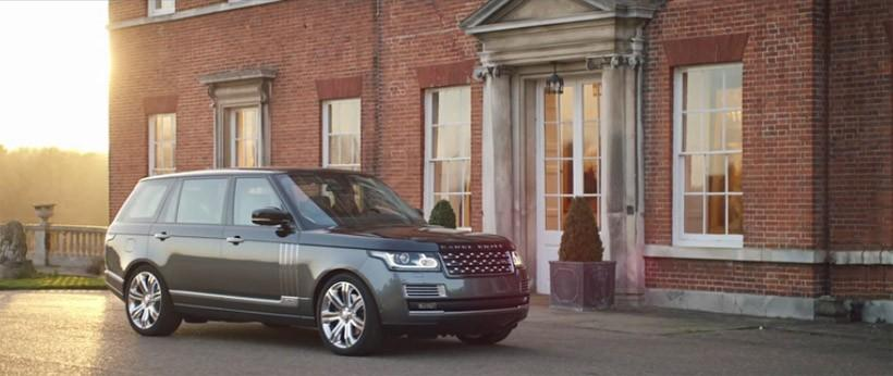 Range Rover SVAutobiography debuts at New York Auto Show