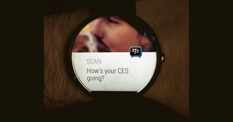 BBM update pulls in Android Wear support