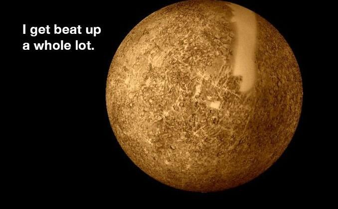 Mercury's dark surface may be alien in origin