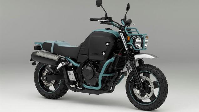 Honda Bulldog concept is a boxy modern bike