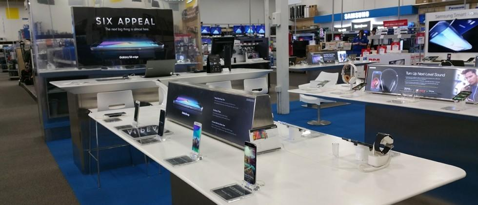 Samsung Gear VR, Galaxy S6, Edge in-store near-hands-on at Best Buy