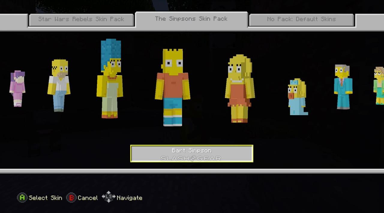 Minecraft Simpsons Skins mini-Review - SlashGear