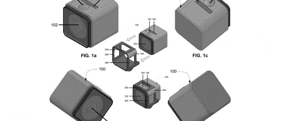 GoPro camera patent a dead ringer for the Polaroid Cube