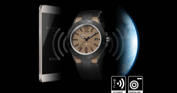 Bulgari Diagono Magnesium watch focuses on security