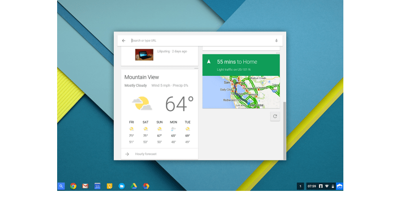 It's Chrome OS' turn for the Google Now upgrade
