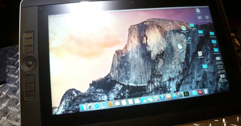 Hack puts OS X Yosemite on a Wacom Cintiq Companion 2