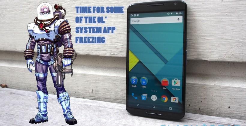 Carrier apps appear in Nexus 6: no surprise