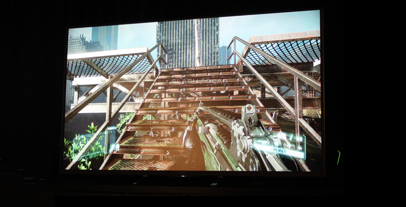 Crysis 3 on NVIDIA SHIELD with Android TV hands-on