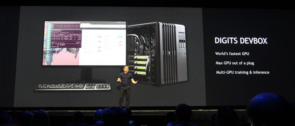 DIGITS DevBox detailed by NVIDIA with Titan X inside