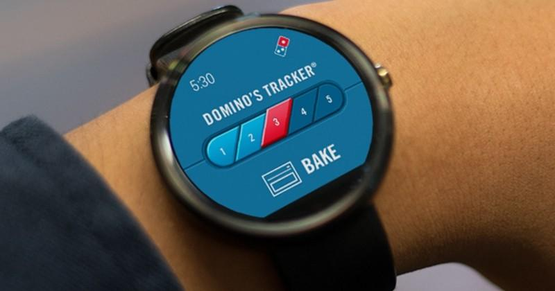 Hungry? No problem with Domino's pizza on your smartwatch