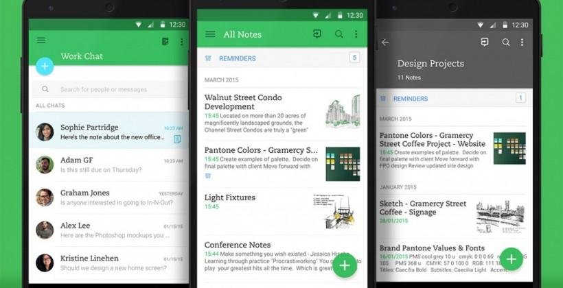 Evernote for Android gets sleek redesign