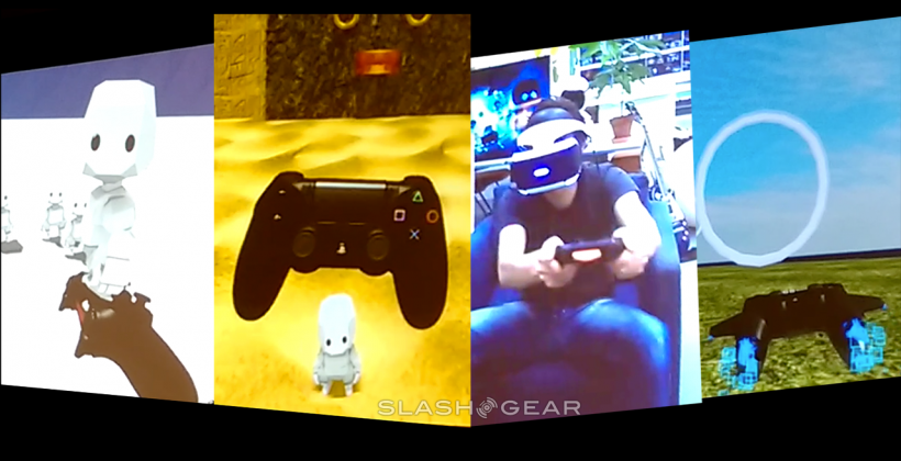 Project Morpheus PS4 controller demos shown at GDC 2015
