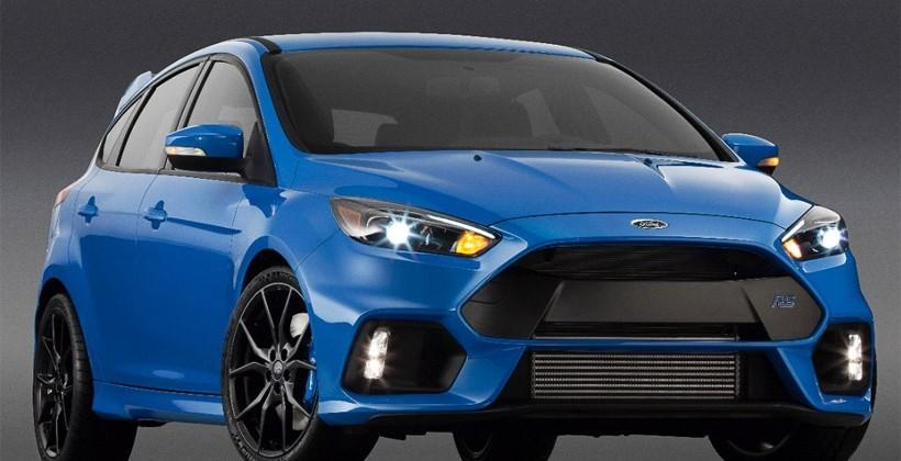 Ford Focus RS makes North American debut in New York