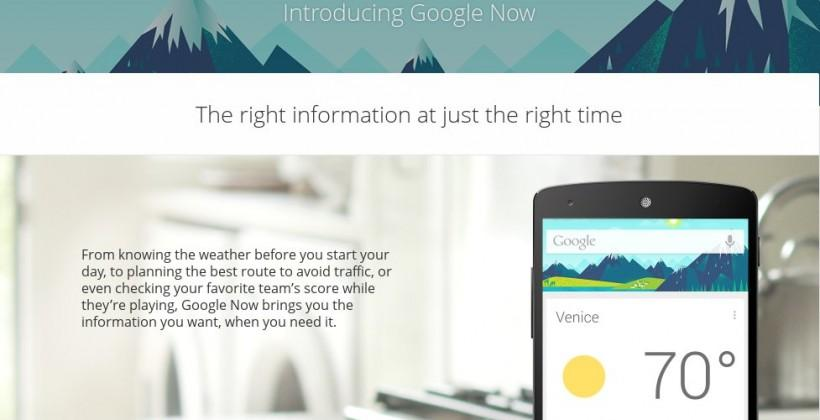 Google to finally open up Google Now API to all apps soon