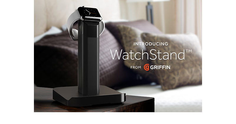 Griffin WatchStand answers the call for Apple Watch docks