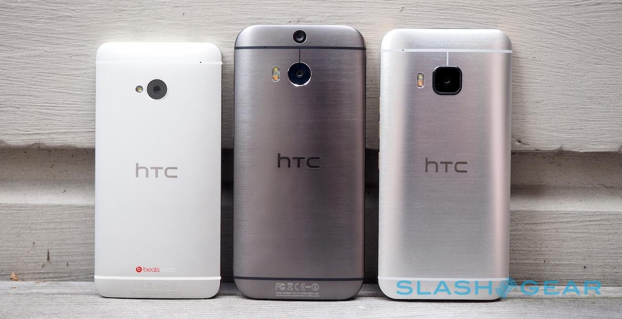 HTC One M7, M8, and M9