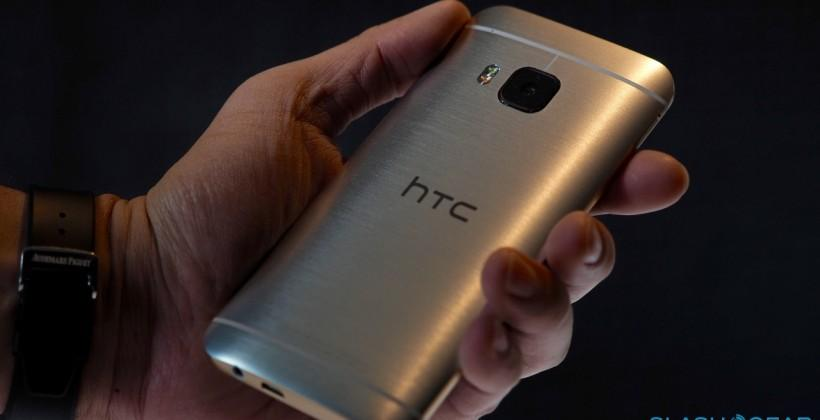 HTC One M9 hands-on: Android goes luxe