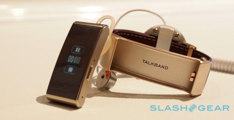 Huawei TalkBand B2 hands-on: Double-duty wearable
